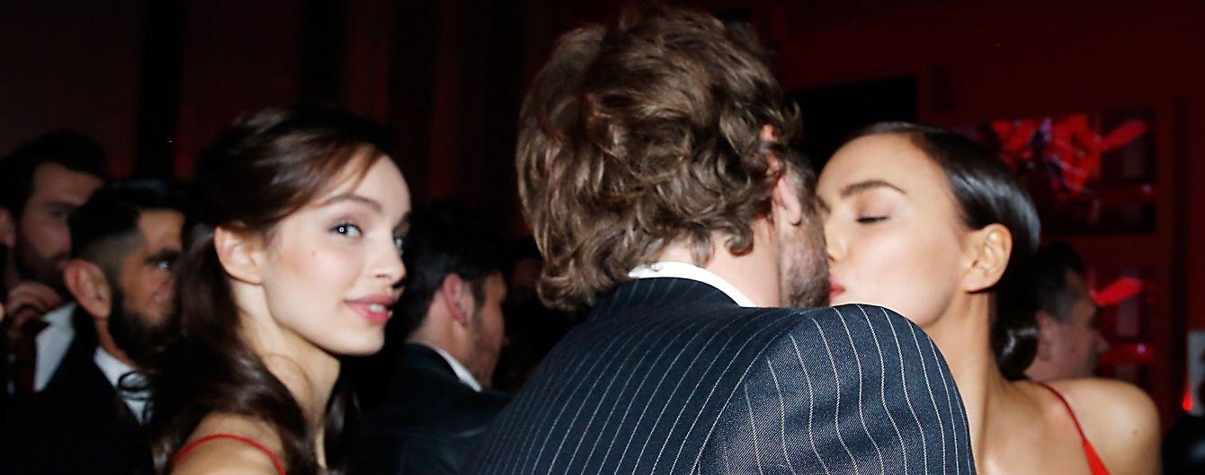 Ірина Шейк та Бредлі Купер вперше привселюдно злилися у поцілунку