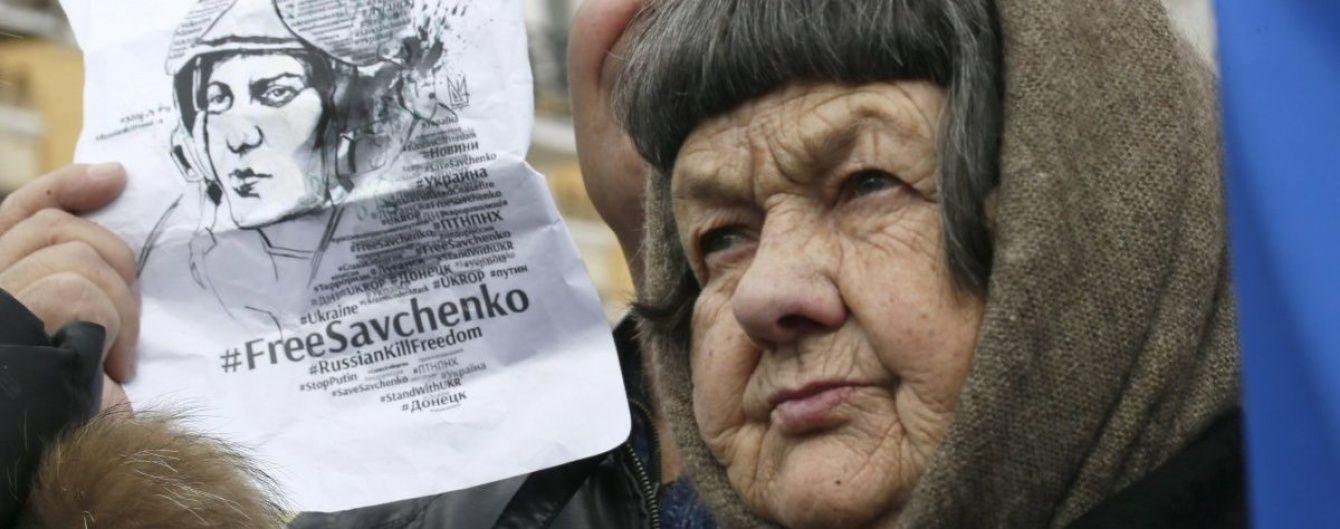 Мати Савченко про коротку зустріч із донькою: В неї холодні руки та опухлі ноги