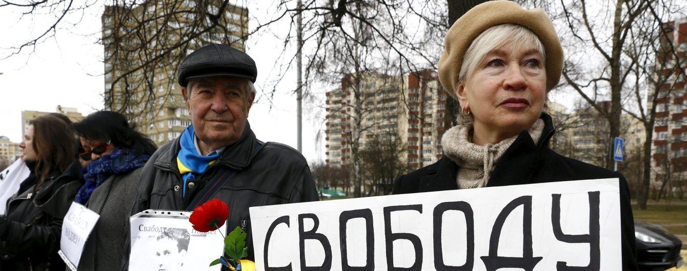У Петербурзі затримали 8 людей через акцію на підтримку Савченко