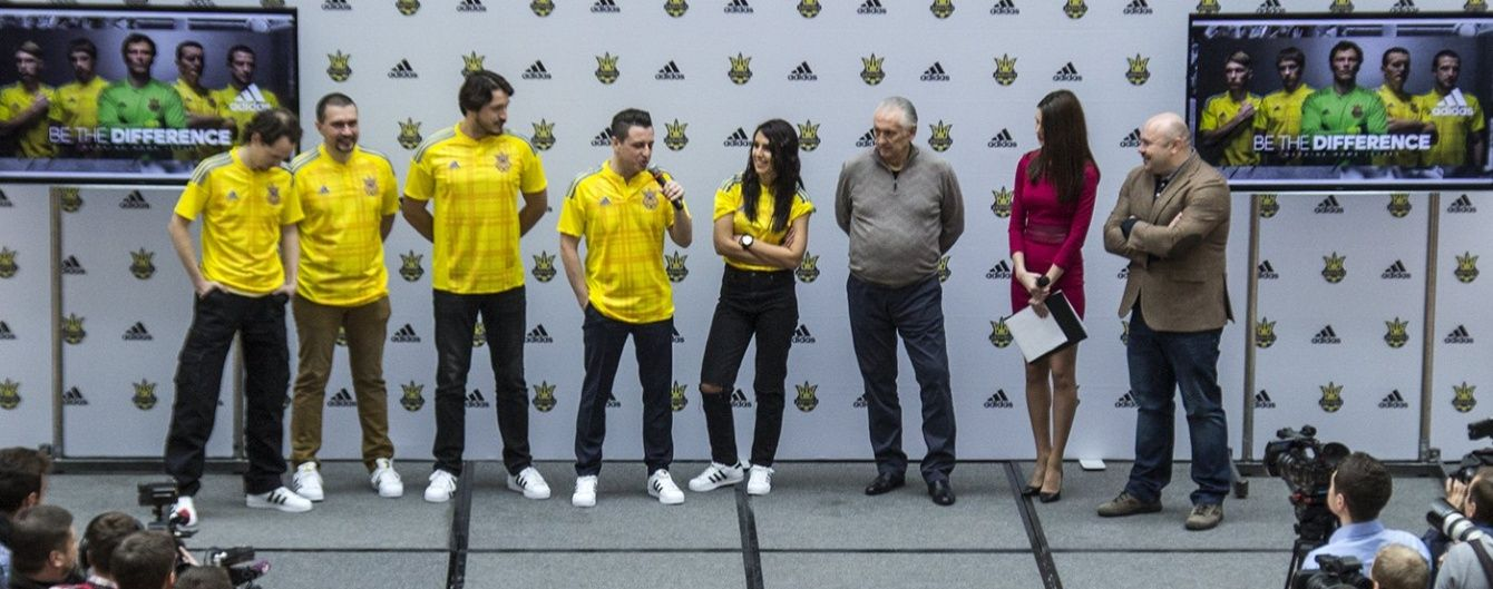 Збірну України вдягли у нову форму до Євро-2016