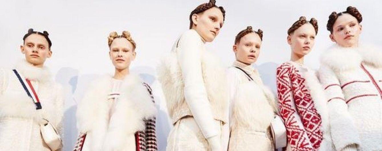 И снова вышиванки: новая коллекция Moncler на Парижской неделе моды