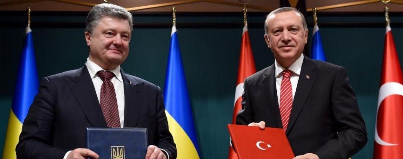 Порошенко та Ердоган домовилися поєднати зусилля для деокупації Криму