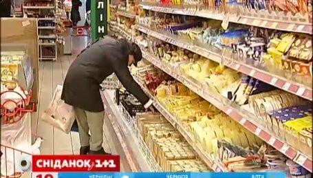 Ціни на продукти у лютому знизилися
