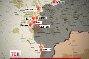 День в АТО: міни й диверсанти біля Авдіївки, тиша на Луганщині