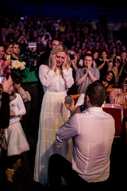 Наречена Тоня Матвієнко вперше прокоментувала освідчення Мірзояна
