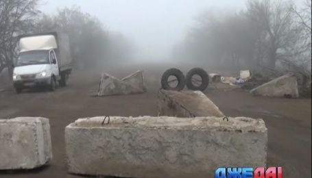 Дорогу Днепропетровск - Кривой-Рог - Николаев две недели блокируют активисты