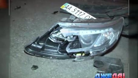 Женщина на машине-призраке спровоцировала массовую аварию в столице