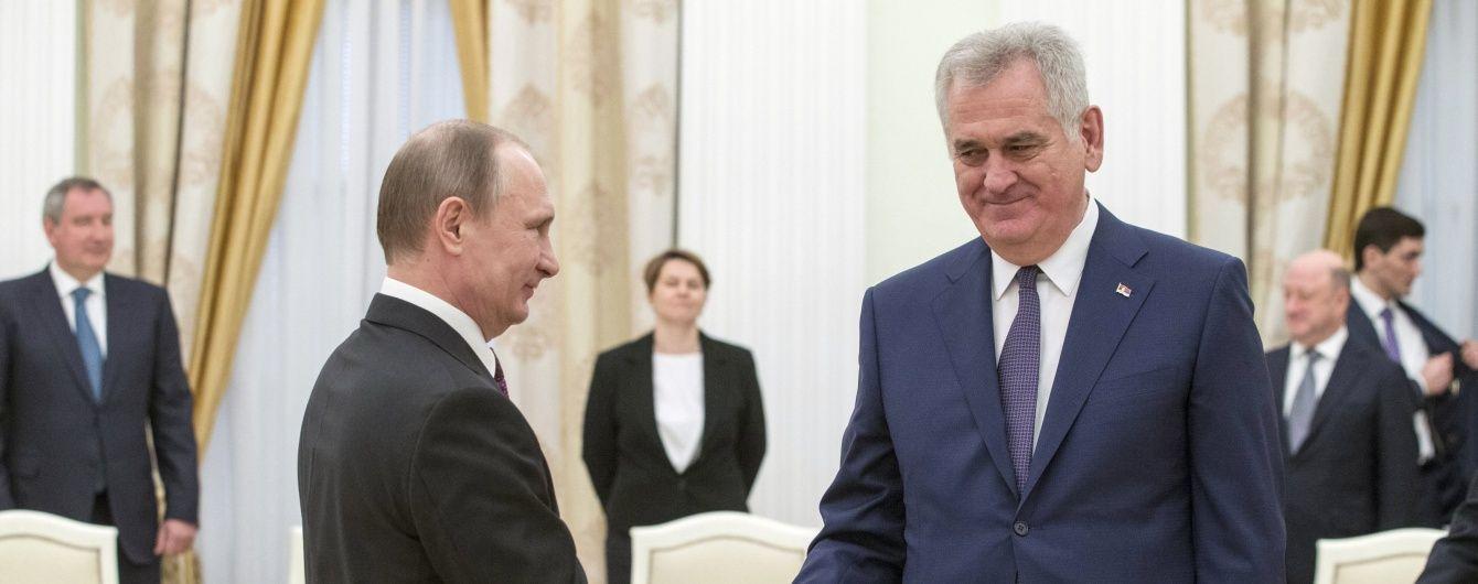 Путін пообіцяв Сербії повернути Косово