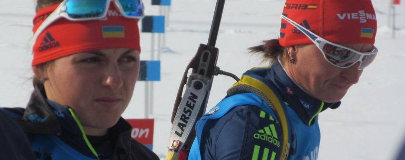Українські біатлоністки опинилися в п'ятірці найкращих у естафеті на чемпіонаті світу