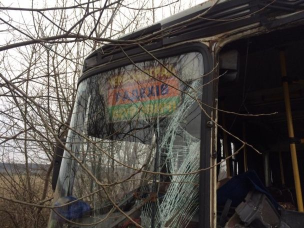 На Львівщині зіштовхнулися два рейсові автобуси, є постраждалі