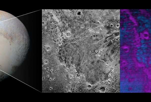 NASA показало знімок унікальних територій Плутона
