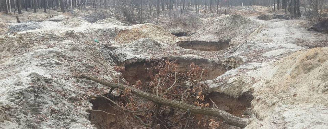 У Житомирській області нарешті придумали, як зупинити варварський видобуток бурштину