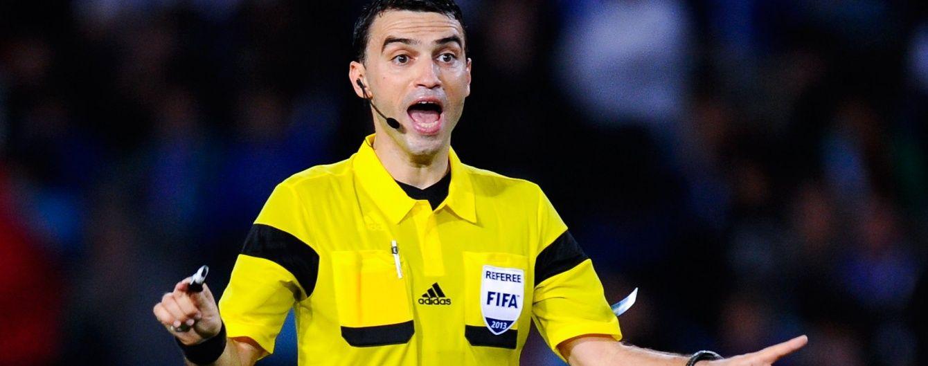 """""""Манчестер Сіті"""" та """"Динамо"""" в Англії розсудить румунський арбітр"""