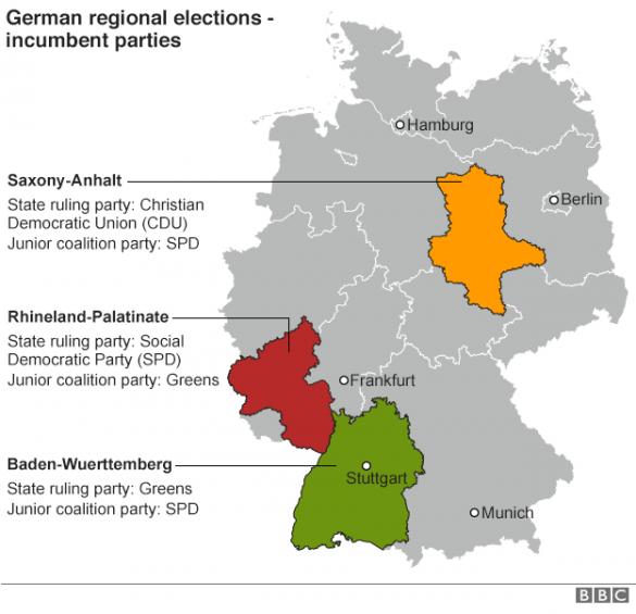 вибори в німеччині