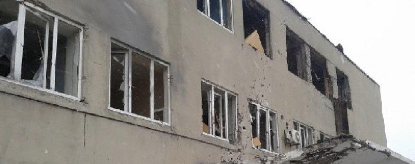 Донецька фільтрувальна станція потрапила від обстріл, співробітники сховалися у бомбосховищі