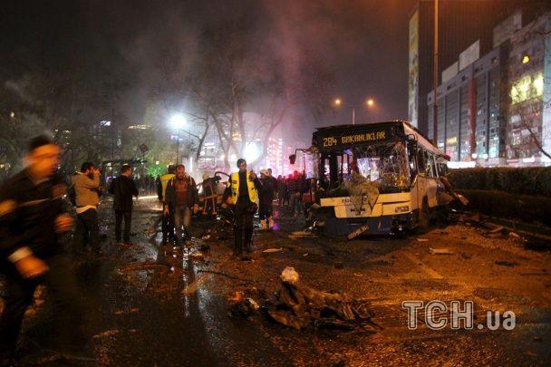 Reuters опублікувало фото наслідків страшного вибуху в Анкарі