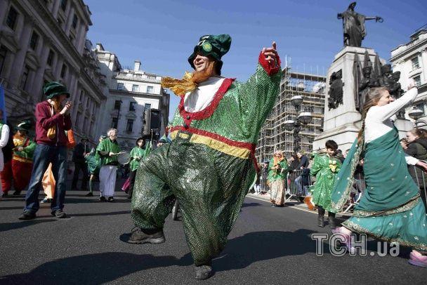 """У світі розпочали """"зелене"""" святкування Дня Святого Патрика"""
