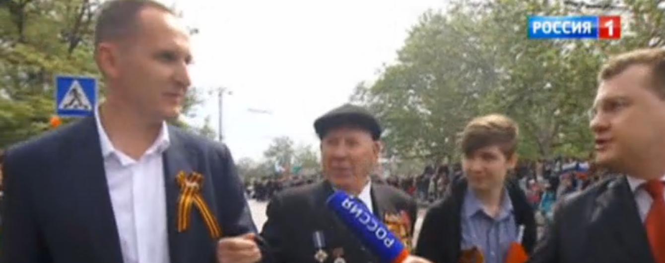 Скандальний голова поліції Вінниччини брав участь у параді в Севастополі на чолі з Путіним