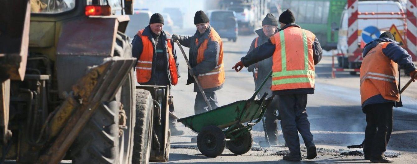 На ремонт доріг спрямували перші 6,5 мільярда гривень із держбюджету
