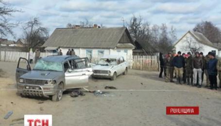 В Ровенской области произошла драка со стрельбой