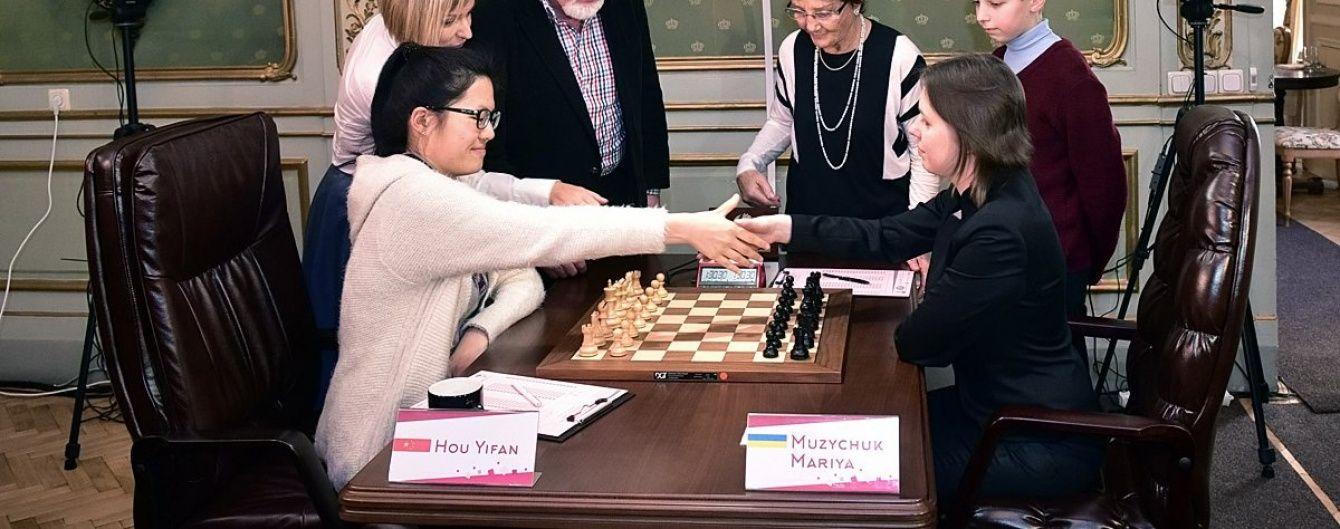 Українка Музичук програла китаянці шахову корону