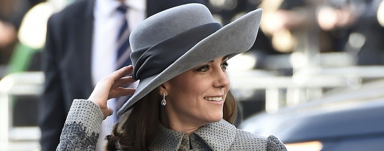 Герцогиня Кембриджская надела шляпку от любимого дизайнера принцессы Дианы