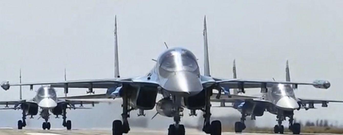 Москва на камеру показує виведення авіації із Сирії, а на практиці залишила тисячу своїх вояків