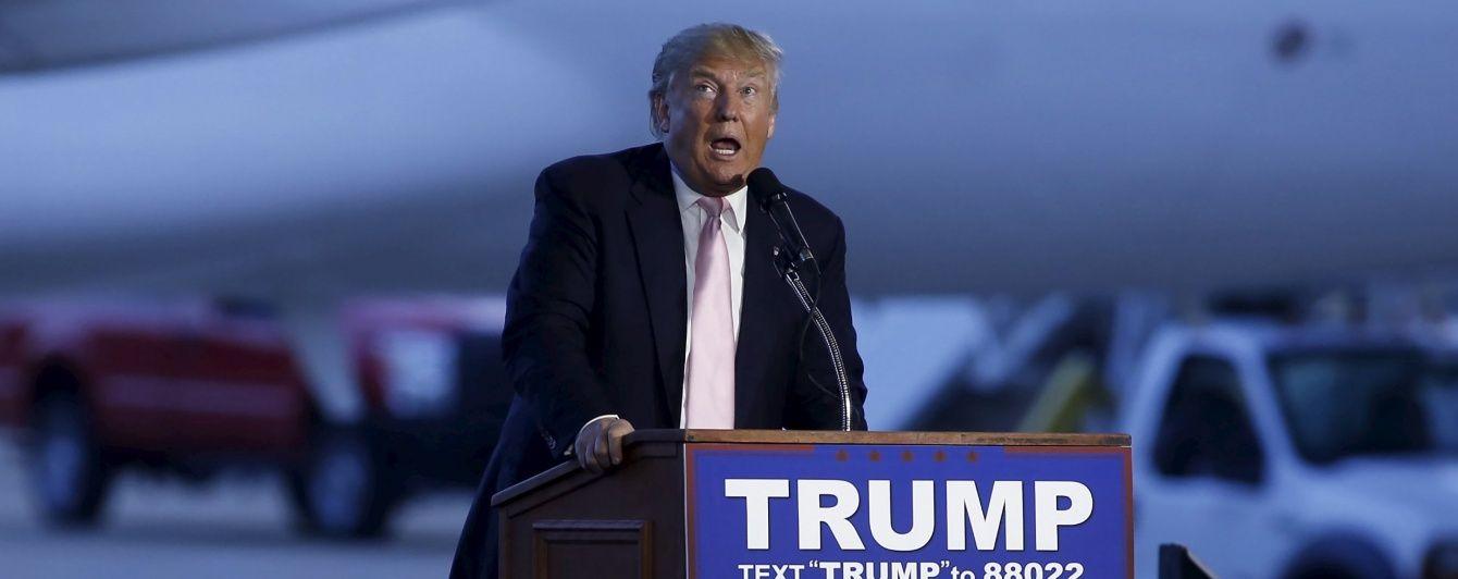 """Трамп назвав Клінтон """"світовою брехухою"""""""