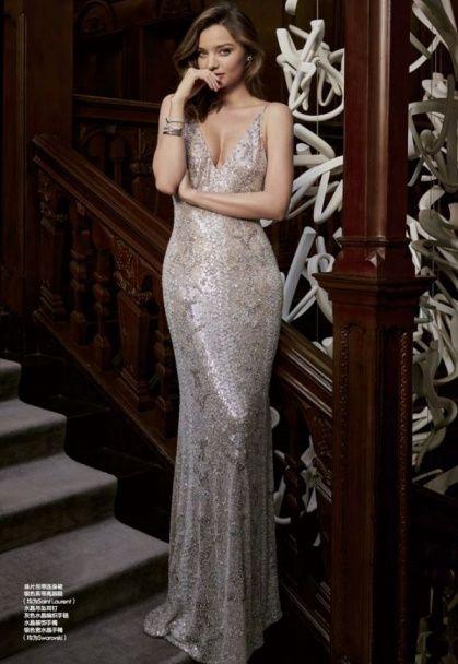 """Міранда Керр у прозорій сукні """"нареченої"""" знялася у ніжній фотосесії"""