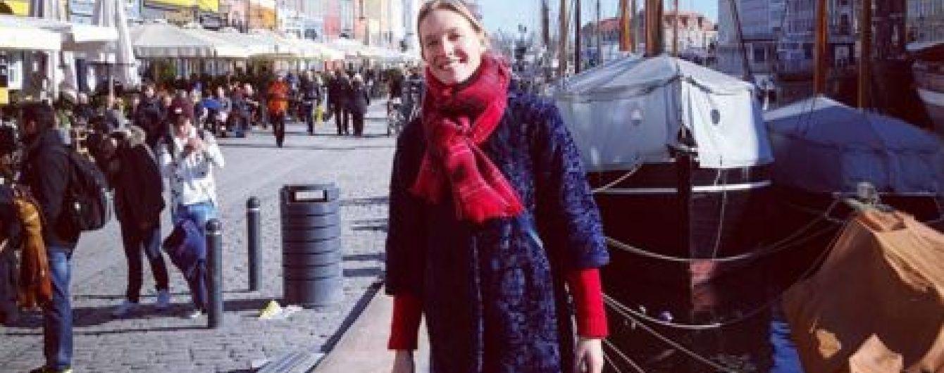 """""""Дівчина в Данії"""": Катя Осадча без макіяжу подорожує Копенгагеном"""