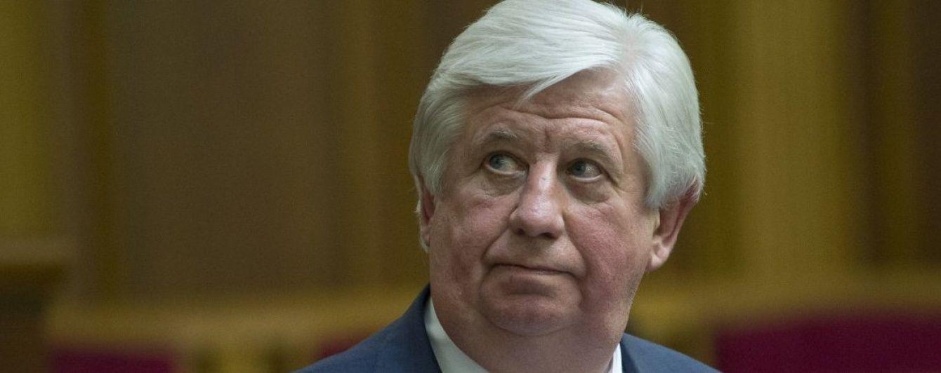 Рада дозволила відправити Шокіна у відставку