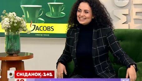 """В гостях у """"Сніданку"""" учасниця """"Голосу країни"""" Тетяна Амірова"""