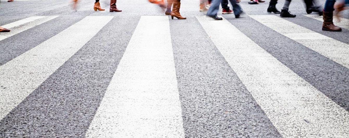 В Украине пешеходов начнут штрафовать за пьянство