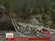 На Буковині засипали гірський водоспад
