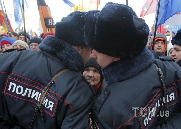 Із Кобзоном, ОМОНом й алкоголем. Москва ошаленіло святкує окупацію Криму