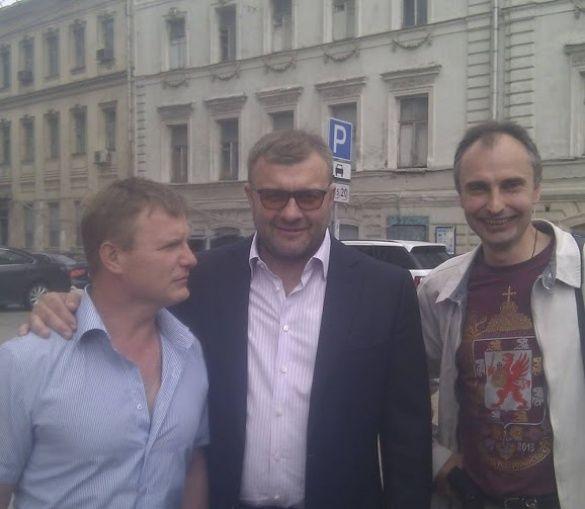 Александр Петрунько с Михаилом Пореченковым