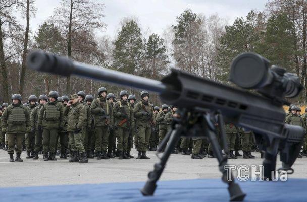З'явилися фото і відео відкриття нового центру підготовки снайперів Нацгвардії
