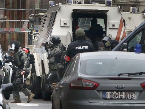 Поліція завершила масштабну спецоперацію в Брюсселі, затримано п'ять осіб