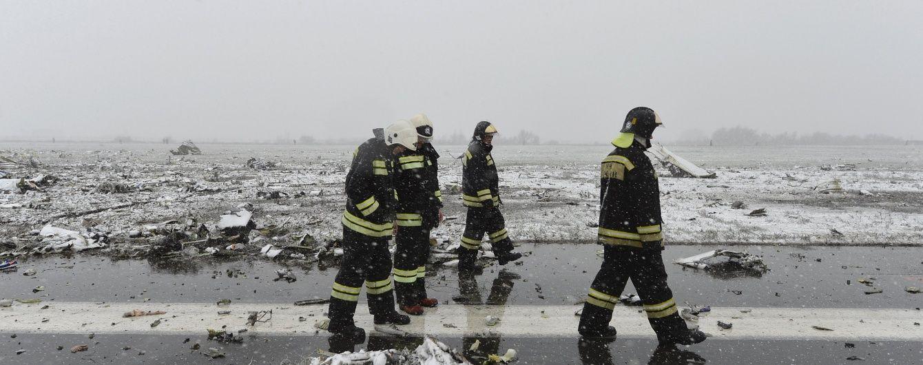 У Мережі опубліковано нове відео падіння Boeing в Ростові-на-Дону