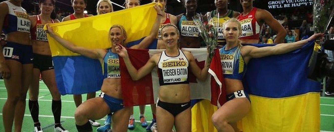 Українки завоювали дві медалі на чемпіонаті світу з легкої атлетики