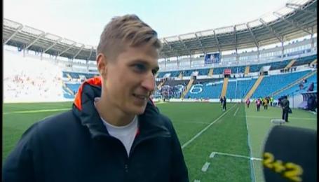 Артем Полярус прокомментировал свой дебютный мяч в Премьер-лиге