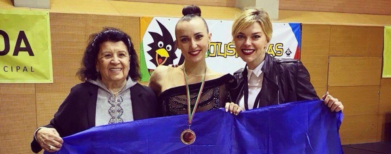 """Українка Різатдінова виборола """"срібло"""" на Кубку світу з художньої гімнастики"""
