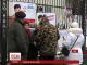 Підтримати Надію Савченко під стіни посольства РФ вийшли кияни