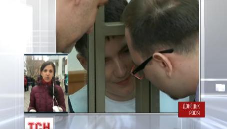 Донецкий суд два часа назад начал выносить Надежды Савченко приговор