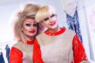 Эпатажные травести-дивы произвели фурор на Ukrainian Fashion Week