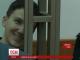 Під час оголошення вироку Надія Савченко багато посміхається
