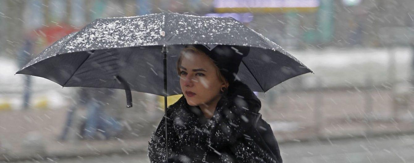Сонячно, хмарно, дощ і мокрий сніг. Прогноз погоди на 22-24 березня