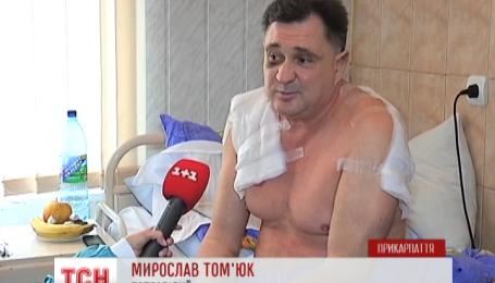 На Прикарпатье трое неизвестных ворвались в дом врача и несколько часов его пытали