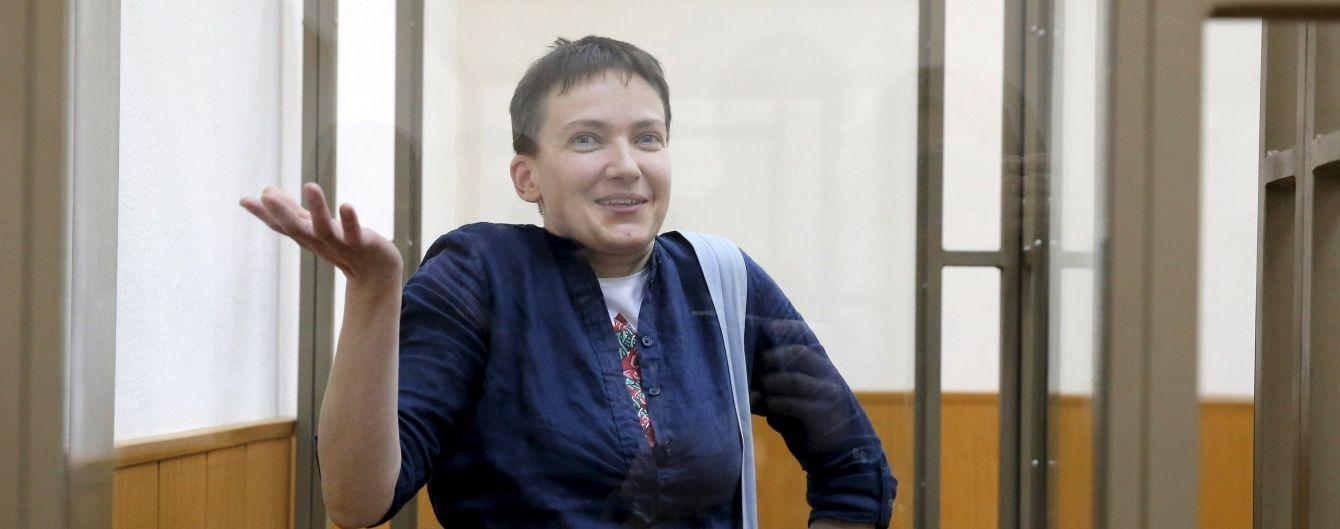 Савченко збирається поновити сухе голодування