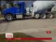 Одинадцятирічний водій бетономішалки ушкодив дві патрульні машини